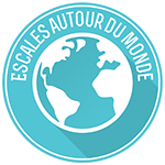 Logo escales autour du monde